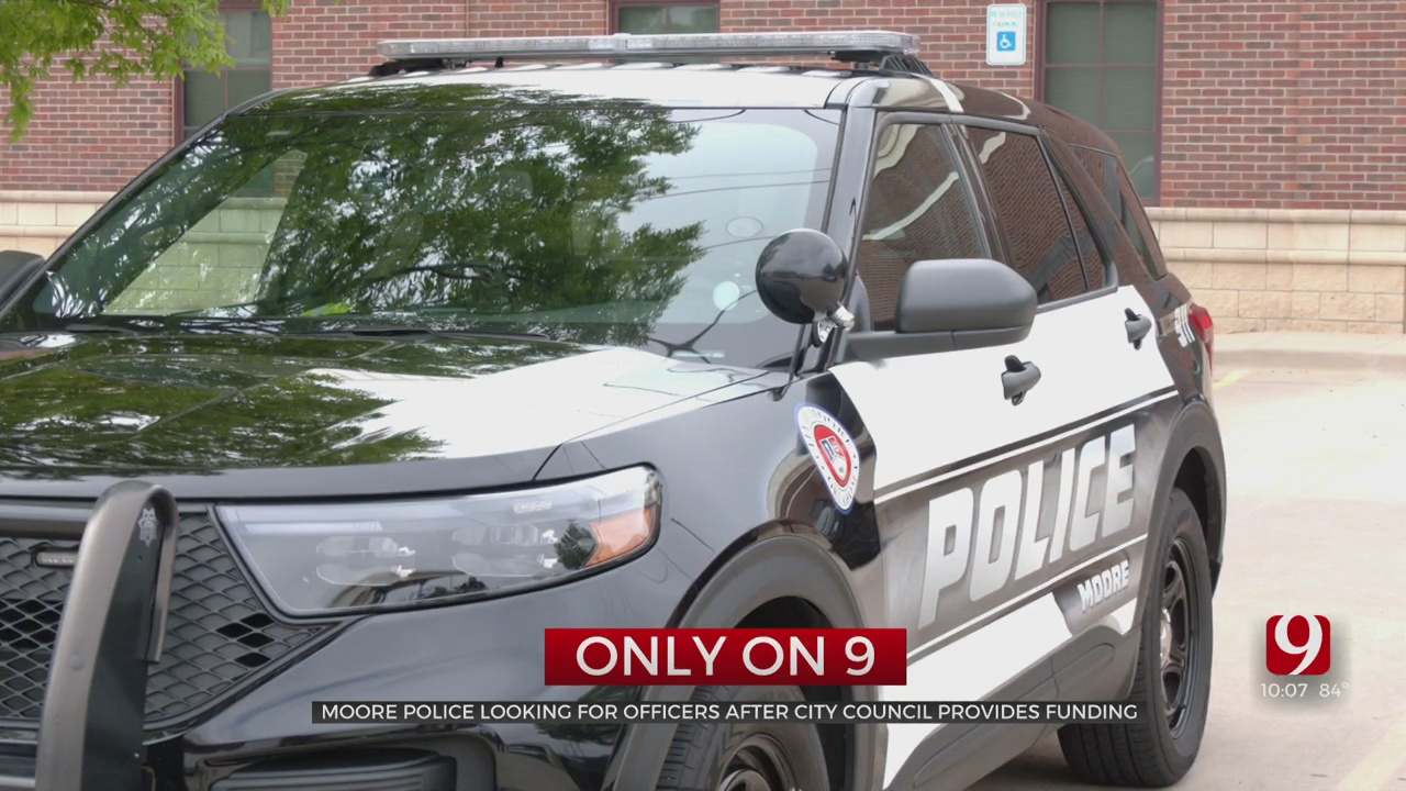 Moore Police Department Working To Hire More Diverse Workforce