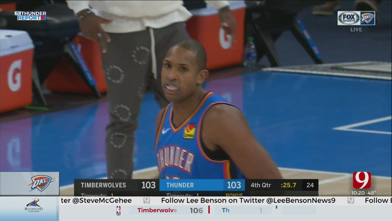 Russell's 3-Point Dagger Downs Shorthanded Thunder