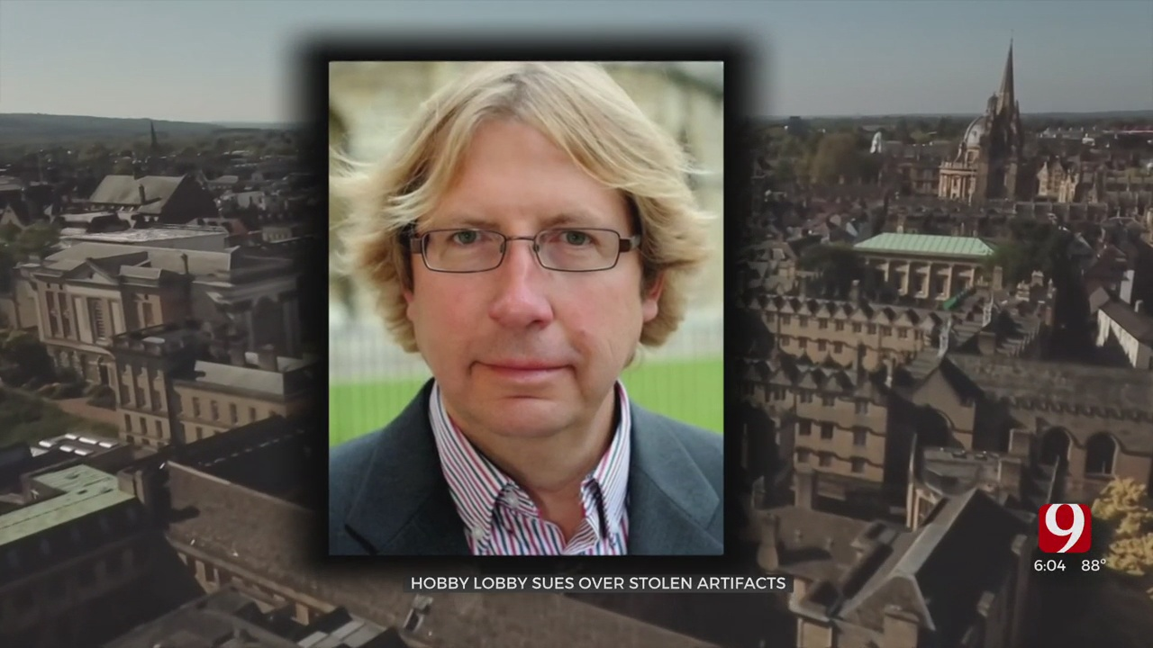 Hobby Lobby Sues Former Oxford Professor Over Stolen Artifacts