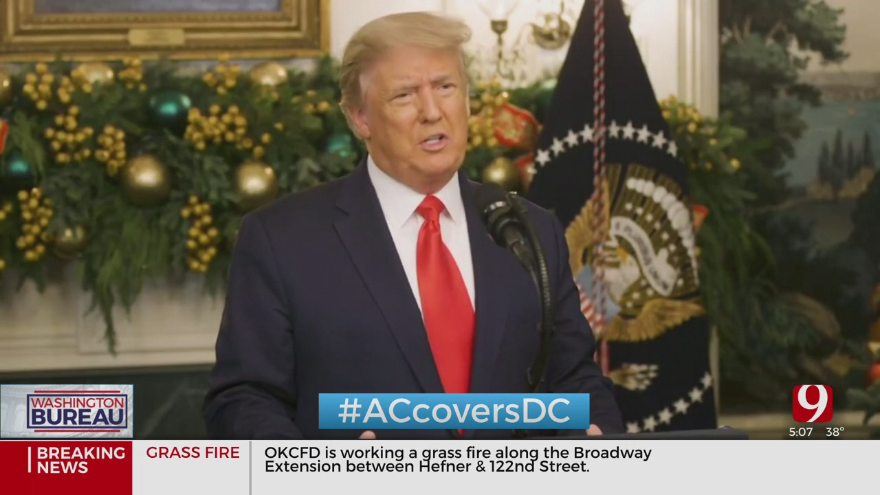 President Trump Throws Wrench Into Stimulus Bill