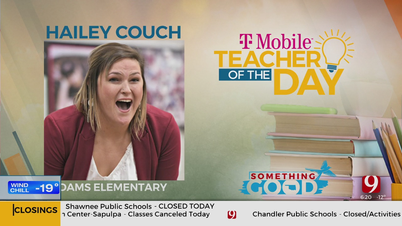 Teacher Of The Day: Hailey Couch
