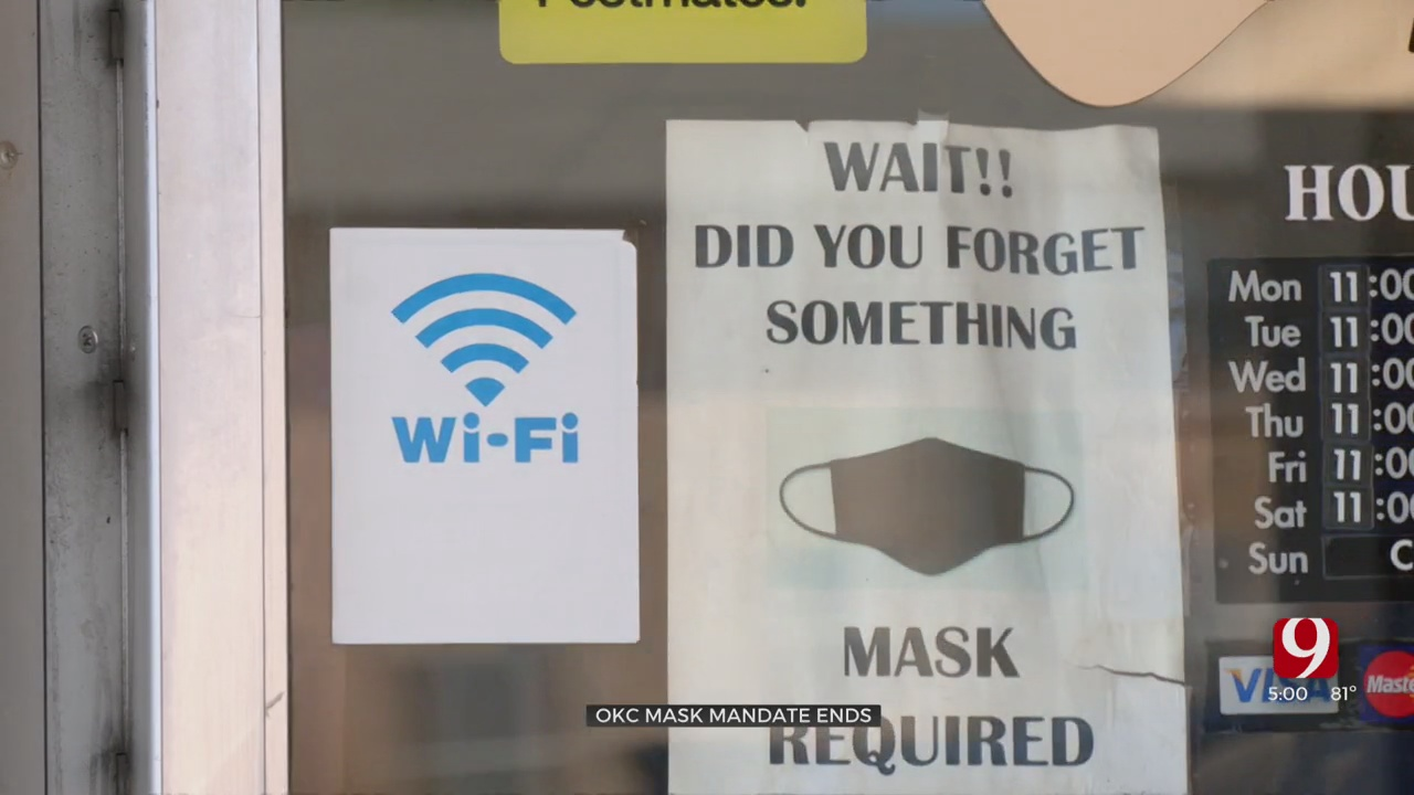 Local Businesses React After OKC's Mask Mandate Expires