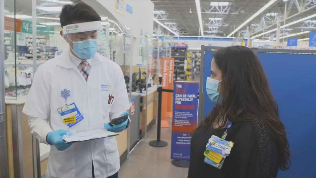 Walmart, Sam's Club To Begin Administering COVID-19 Vaccines Friday