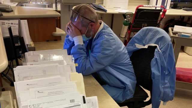 Healthcare Workers Discuss 'Frontline Fatigue' Due To Pandemic