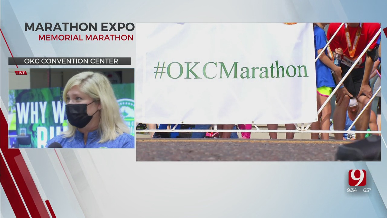 Oklahoma City Convention Center Hosts Runners Ahead Of OKC Marathon