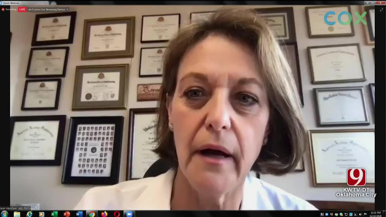 WATCH: Healthier Oklahoma Coalition: COVID-19 Update (Dec. 22)