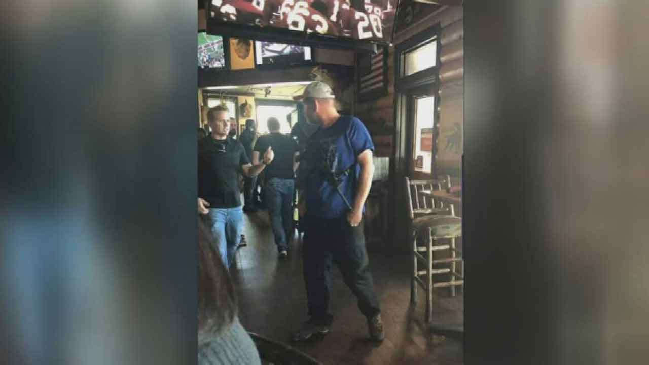 'Best Interests Of Justice': Case Dismissed Against Man Carrying AR-15 In OKC Restaurant