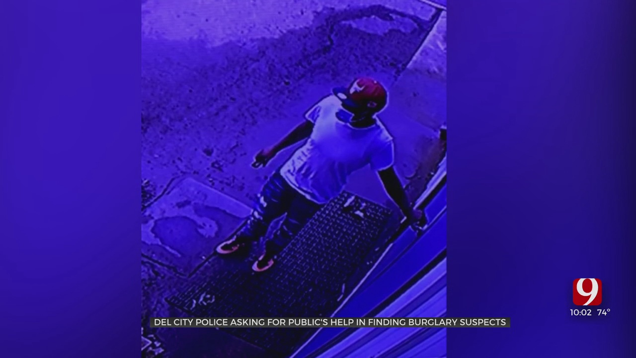 Del City Police Search For Suspects After Burglary To Metro Business