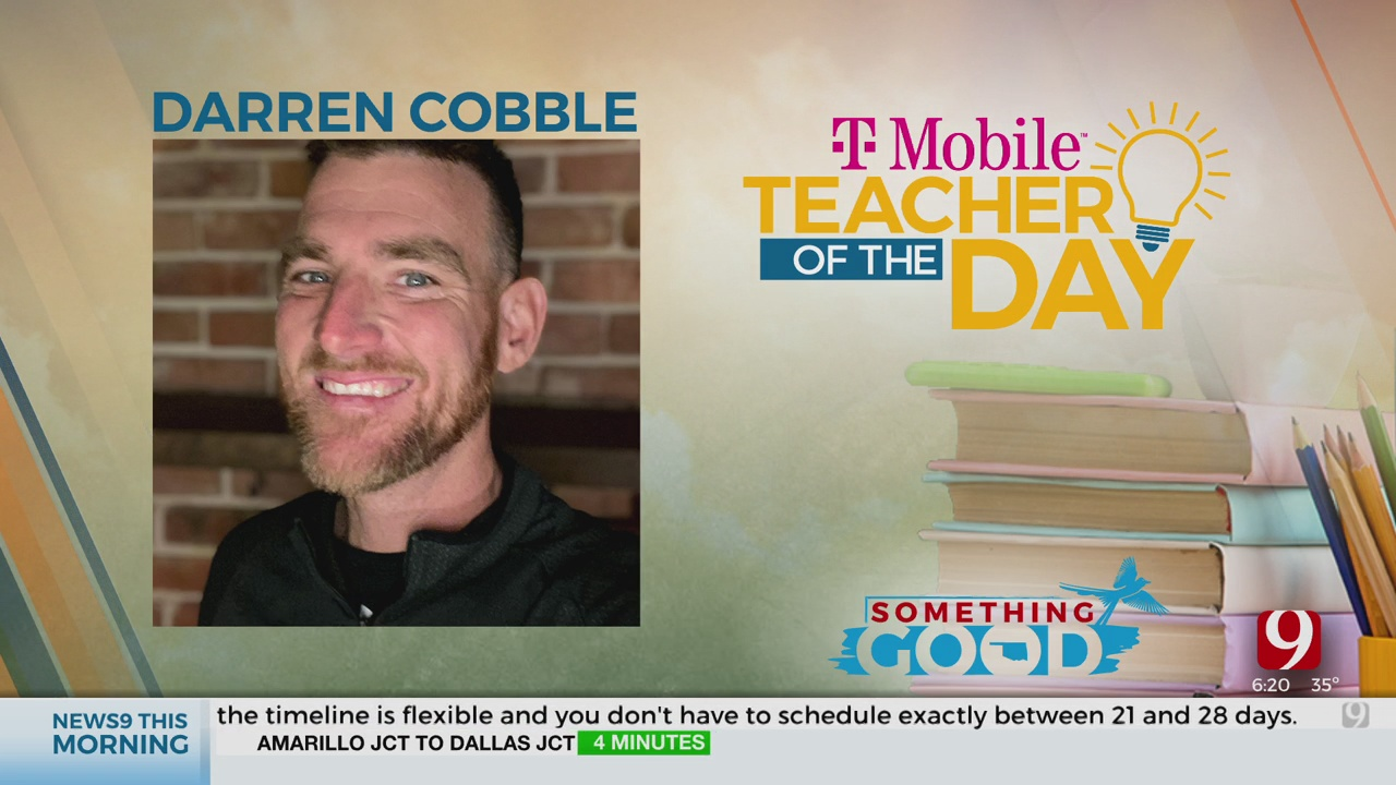 Teacher Of The Day: Darren Cobble