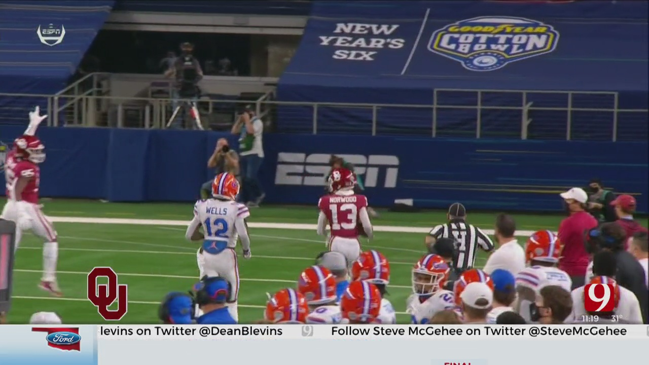Sooners Beat Florida In The Cotton Bowl