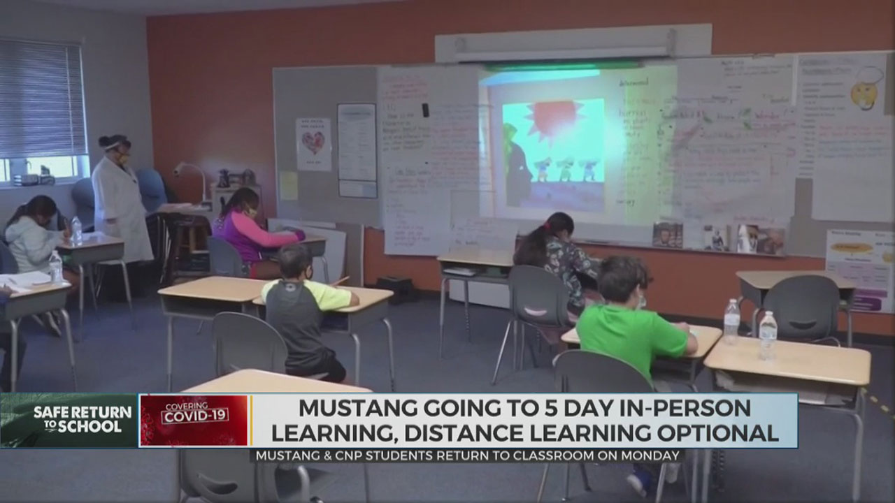 Mustang, Choctaw-Nicoma Park Students To Return To Classroom Monday