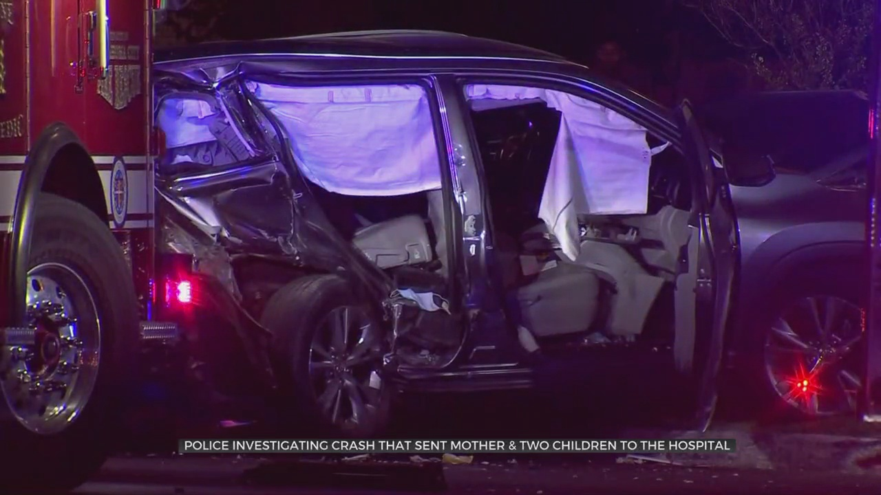 Man Accused Of Causing NW OKC Crash That Sent Pregnant Woman To A Hospital