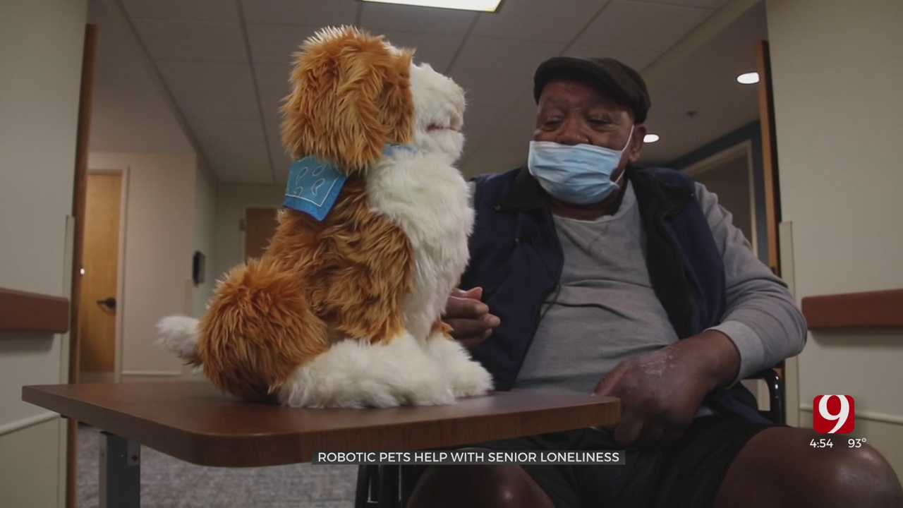 Medical Minute: Robotic Pets Help Seniors With Loneliness
