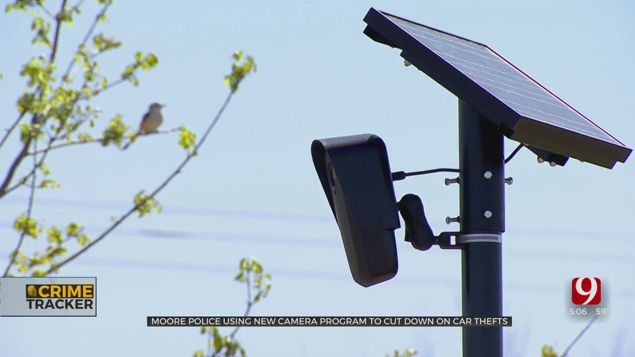 Moore Police, Residents Track Stolen Cars Using License Plate Reading Cameras