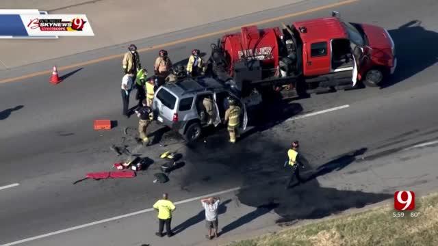 1 Killed In Crash On WB I-40