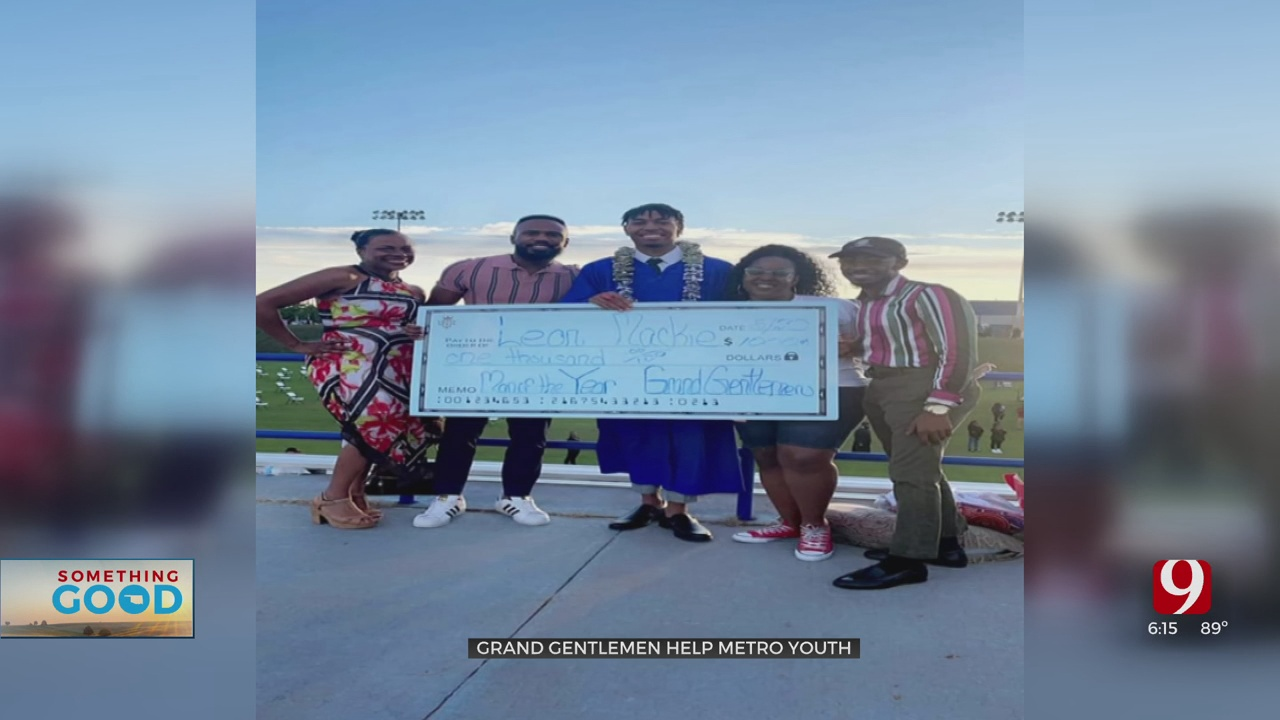 Local Nonprofit, Grand Gentleman, Awards Scholarships To Black High School Graduates