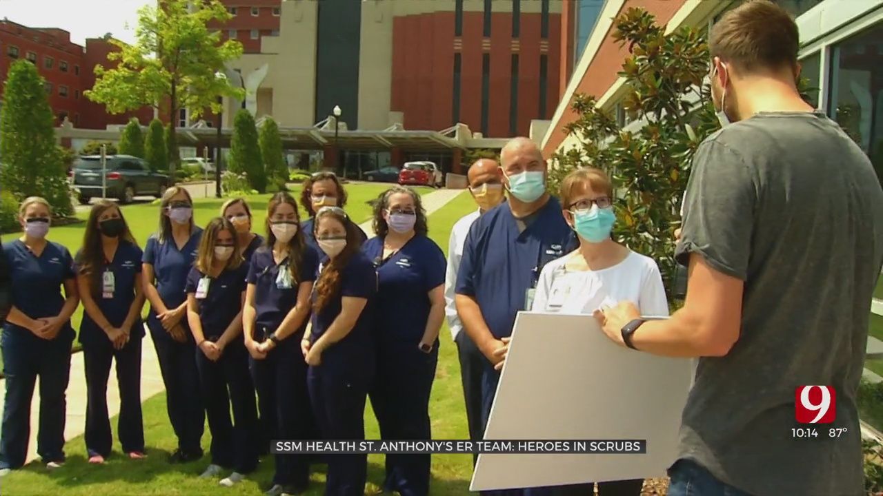 Caring For The Community: SSM Health St. Anthony's ER Team Honored For Work During The Pandemic