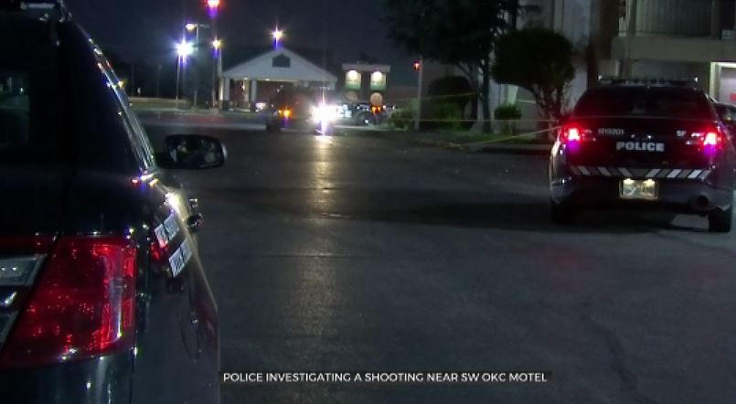 1 Victim Shot Near Southwest OKC Inn