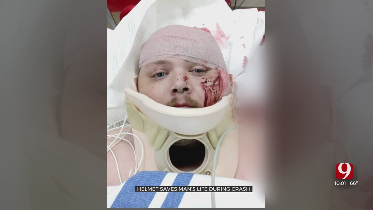 Moore Motorcyclist Hospitalized After Crash Involving Unlicensed Driver
