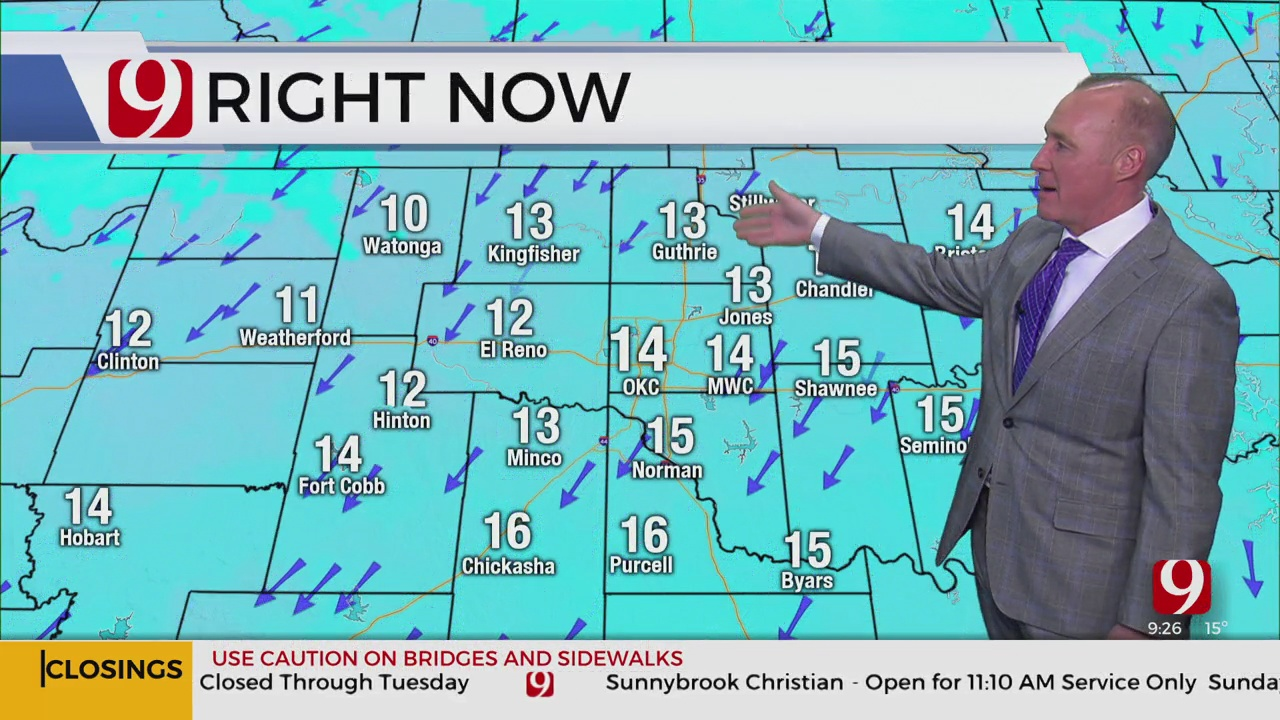 WATCH: News 9 Chief Meteorologist David Payne's Winter Weather Update (9:25 p.m.)