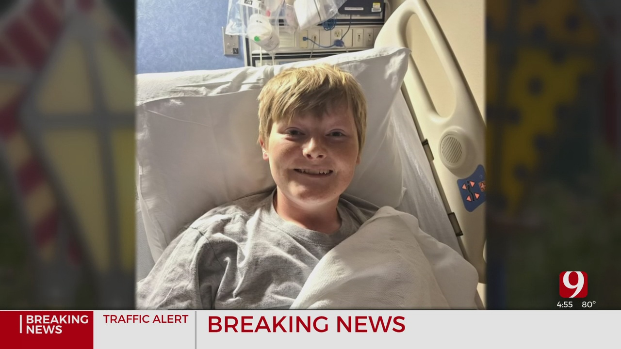Teen Starts Cancer Treatment After Tumor Was Discovered During A Yearly Doctor's Appointment