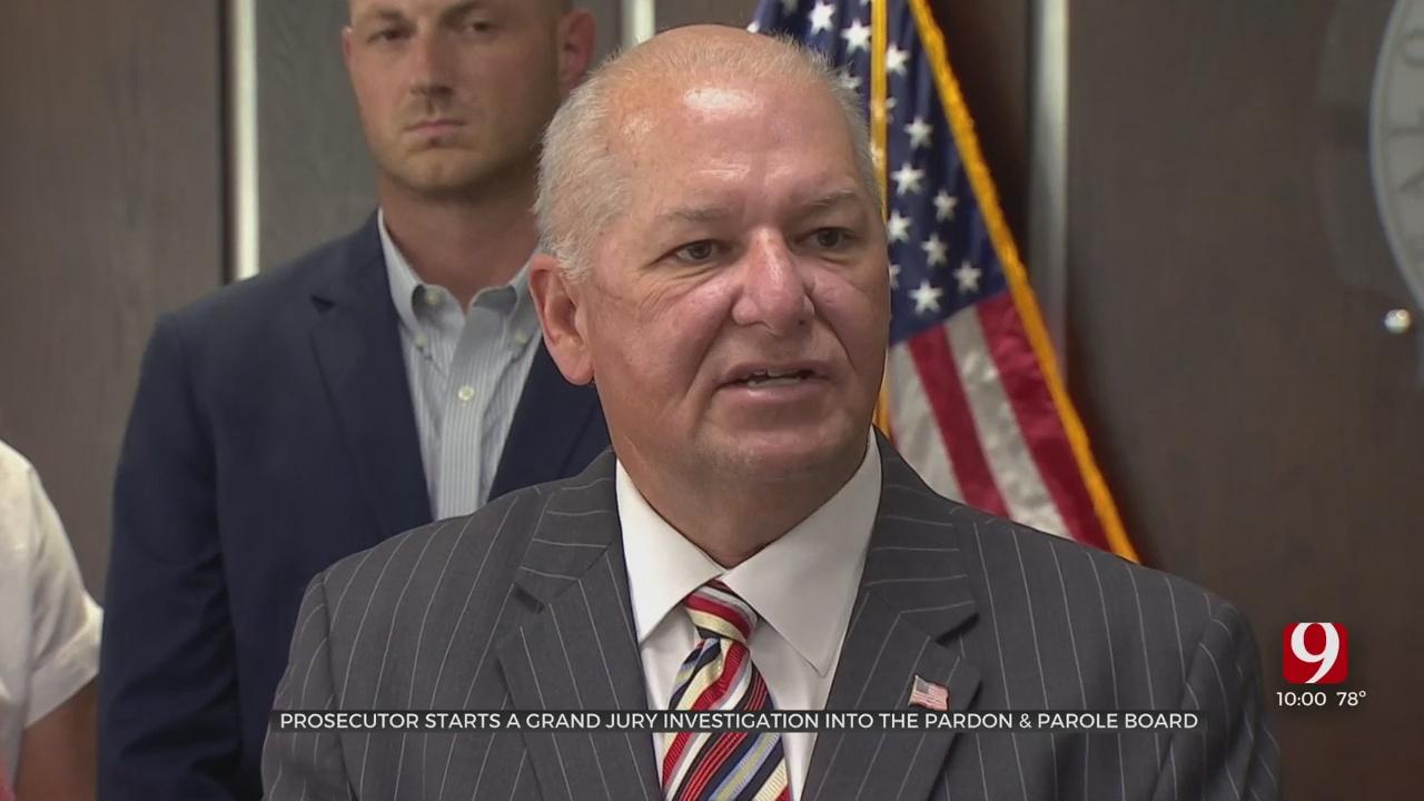 Oklahoma Co. DA Convenes Grand Jury To Investigate State Pardon & Parole Board, County Jail Administration