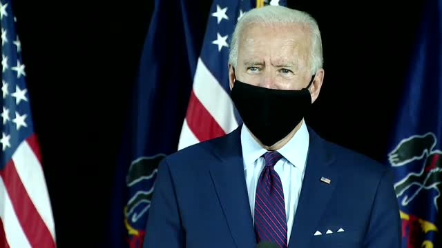 Biden Says He'd Use Executive Powers To Force Americans To Wear Masks In Public