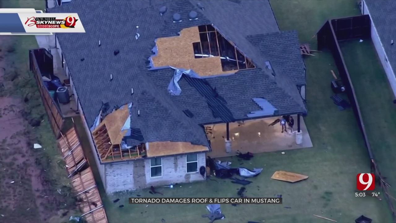 SW OKC Neighborhood Surveys Damage After The Early Morning Tornado