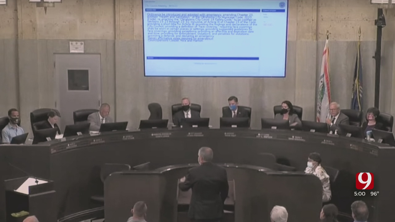 KarlOKC Mask Mandate Fails In City Council Vote After Heated Debate