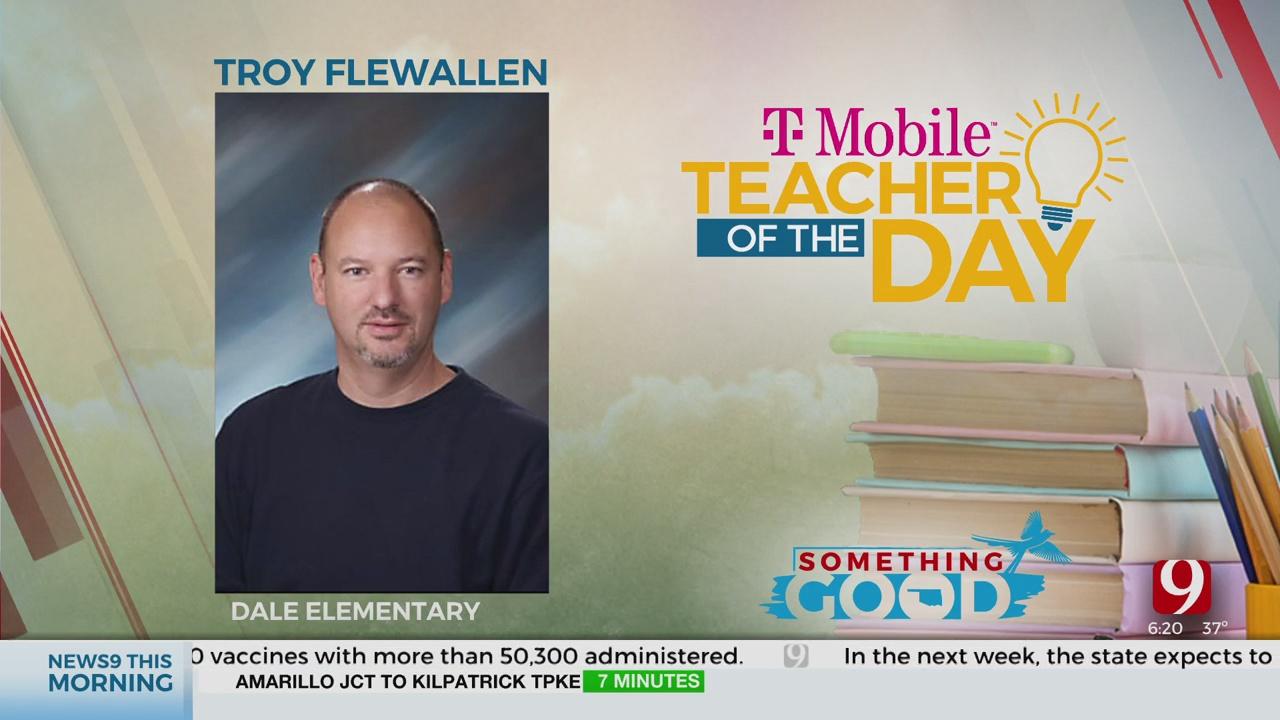 Teacher Of The Day: Troy Flewallen