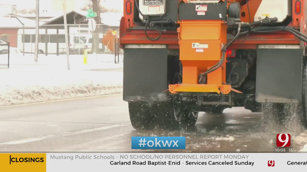 Oklahoma City Officials Preparing For Upcoming Winter Weather