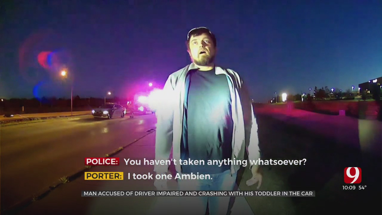 Man Arrested, Accused Of Driving Impaired With 2-Year-Old Child In Edmond Rollover Crash