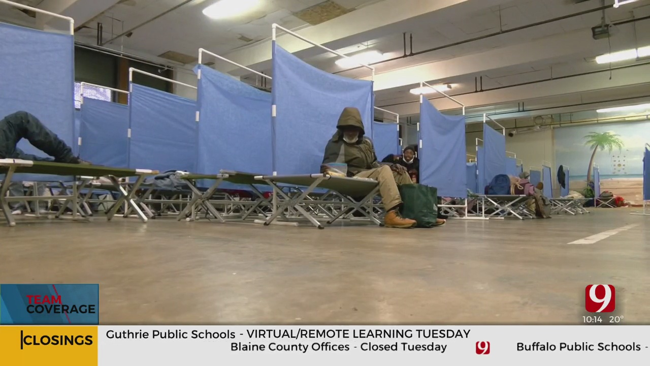 Winter Storm Will Test Capacities at Oklahoma City Homeless Shelters
