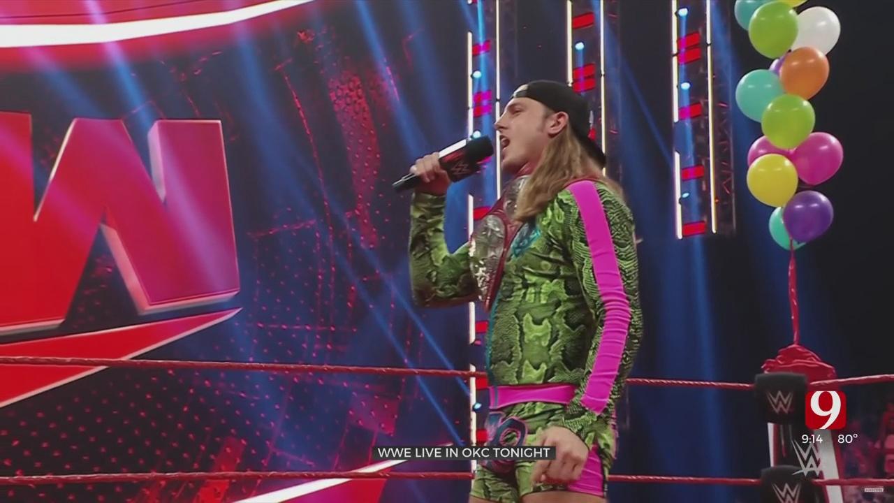WWE Raw Heads To Oklahoma City Monday Night