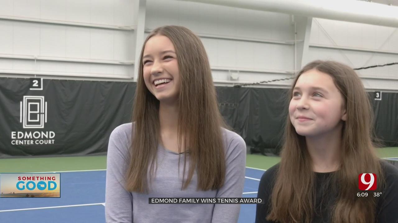 Something Good: Edmond Family Serves Up Kindness Through Tennis