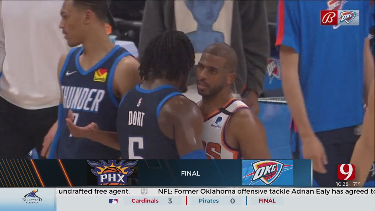 Thunder Squares Off With Chris Paul And The Suns