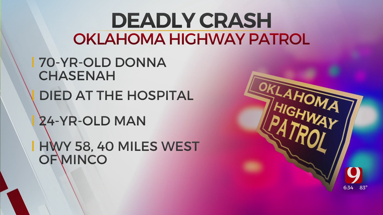Woman Dies After Rollover Accident In Caddo County