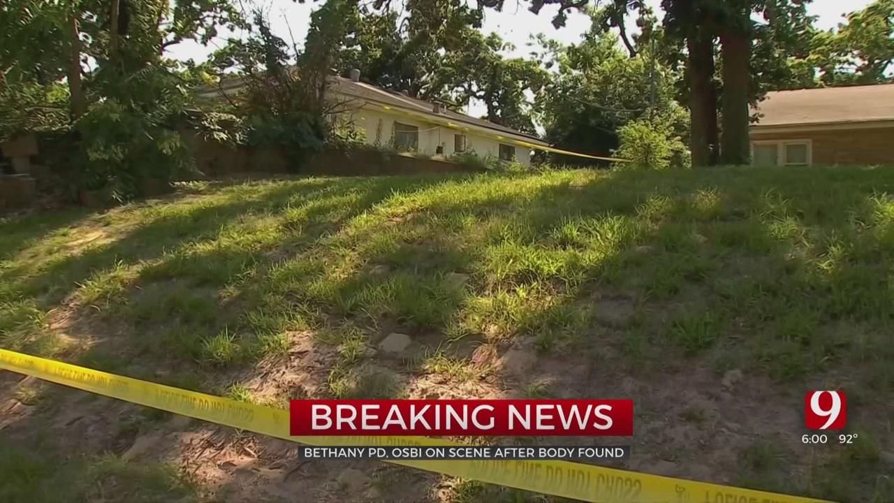 Police, OSBI Investigating Body Found At Bethany Residence