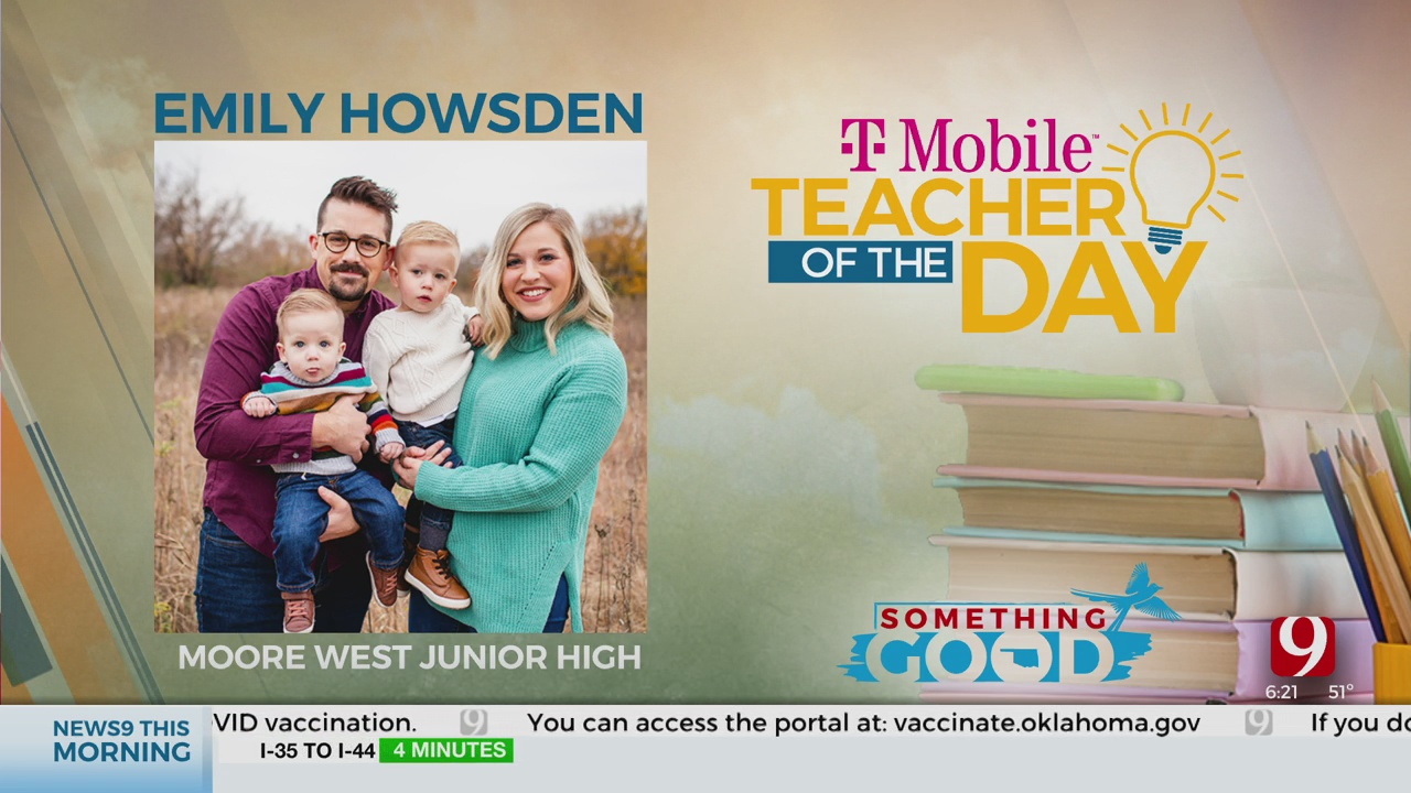 Teacher Of The Day: Emily Howsden