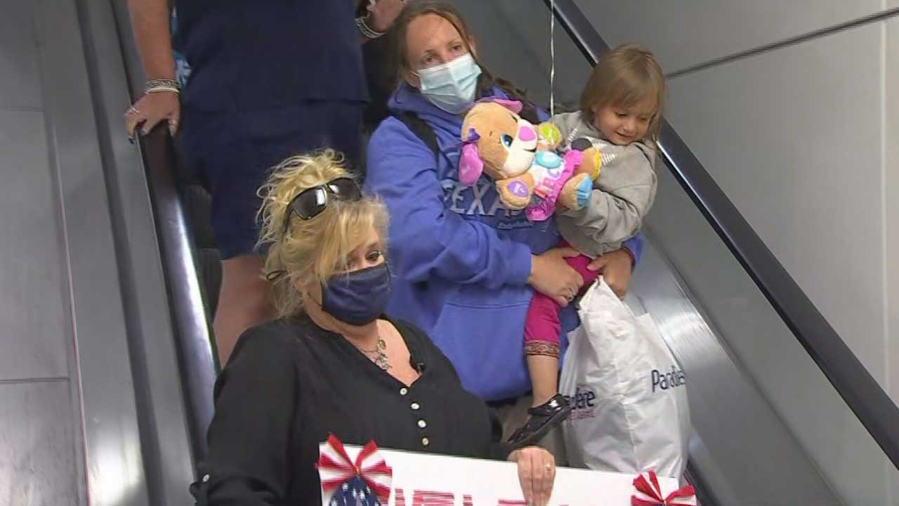 Afghan Refugee, Daughter Safe In Oklahoma After Help From Family Member