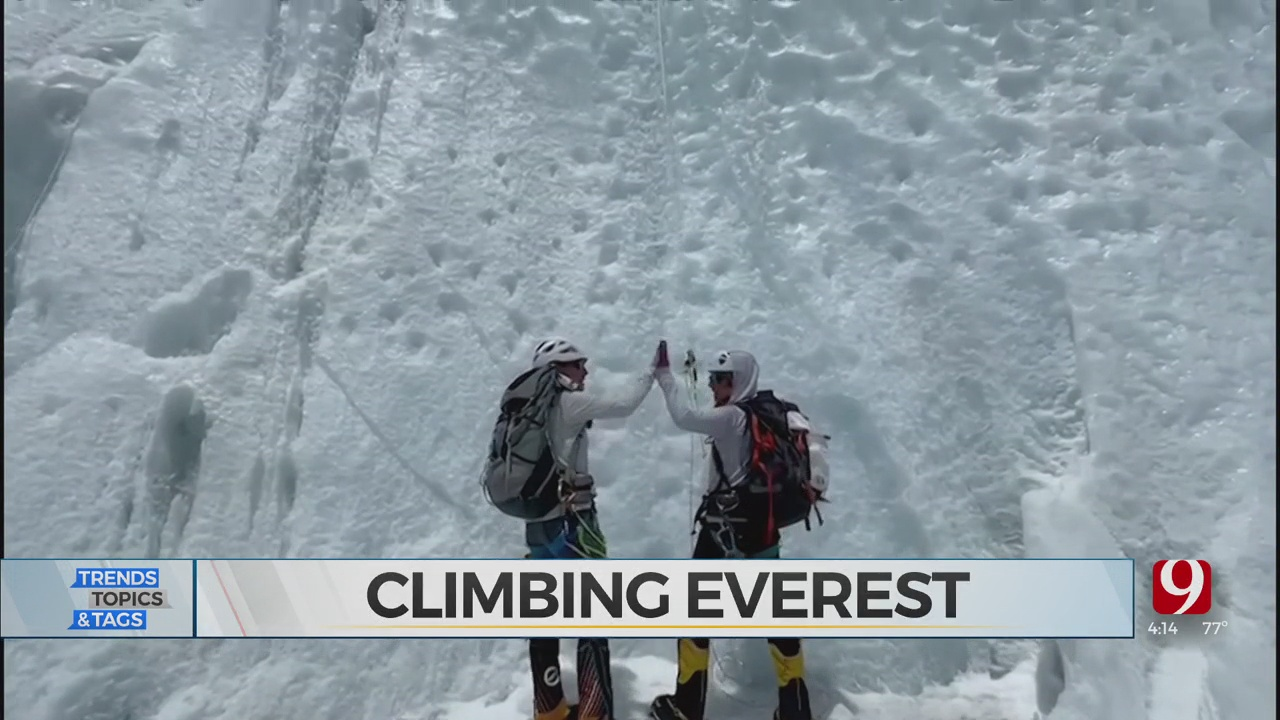 Trends, Topics & Tags: Climbing Everest