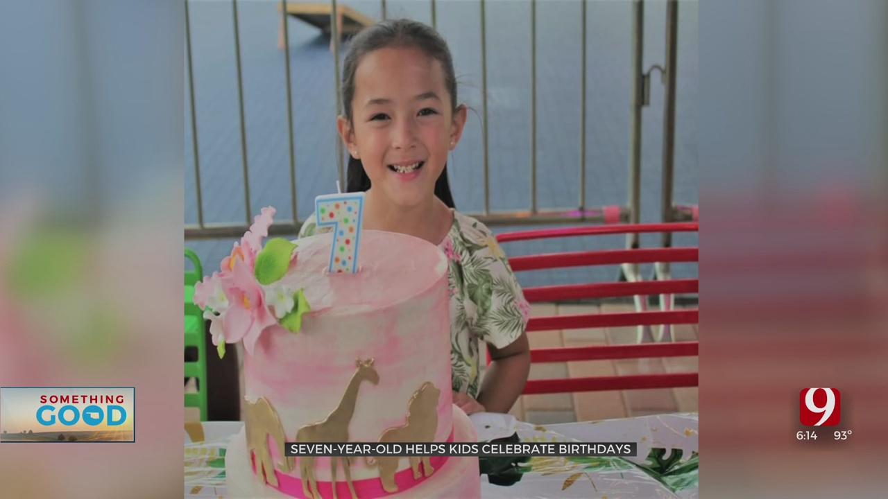 Something Good: Girl Makes Birthday Boxes For Underprivileged Children