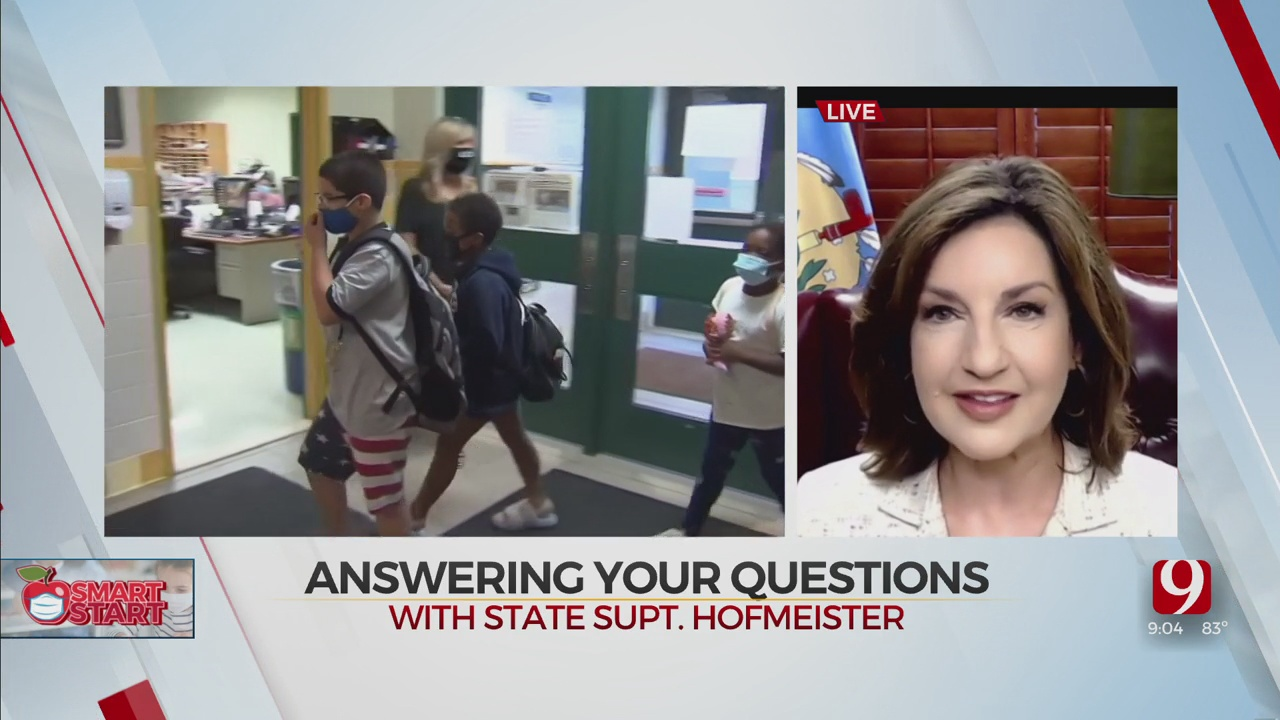 WATCH: State Superintendent Joy Hofmeister Answers Back To School Questions