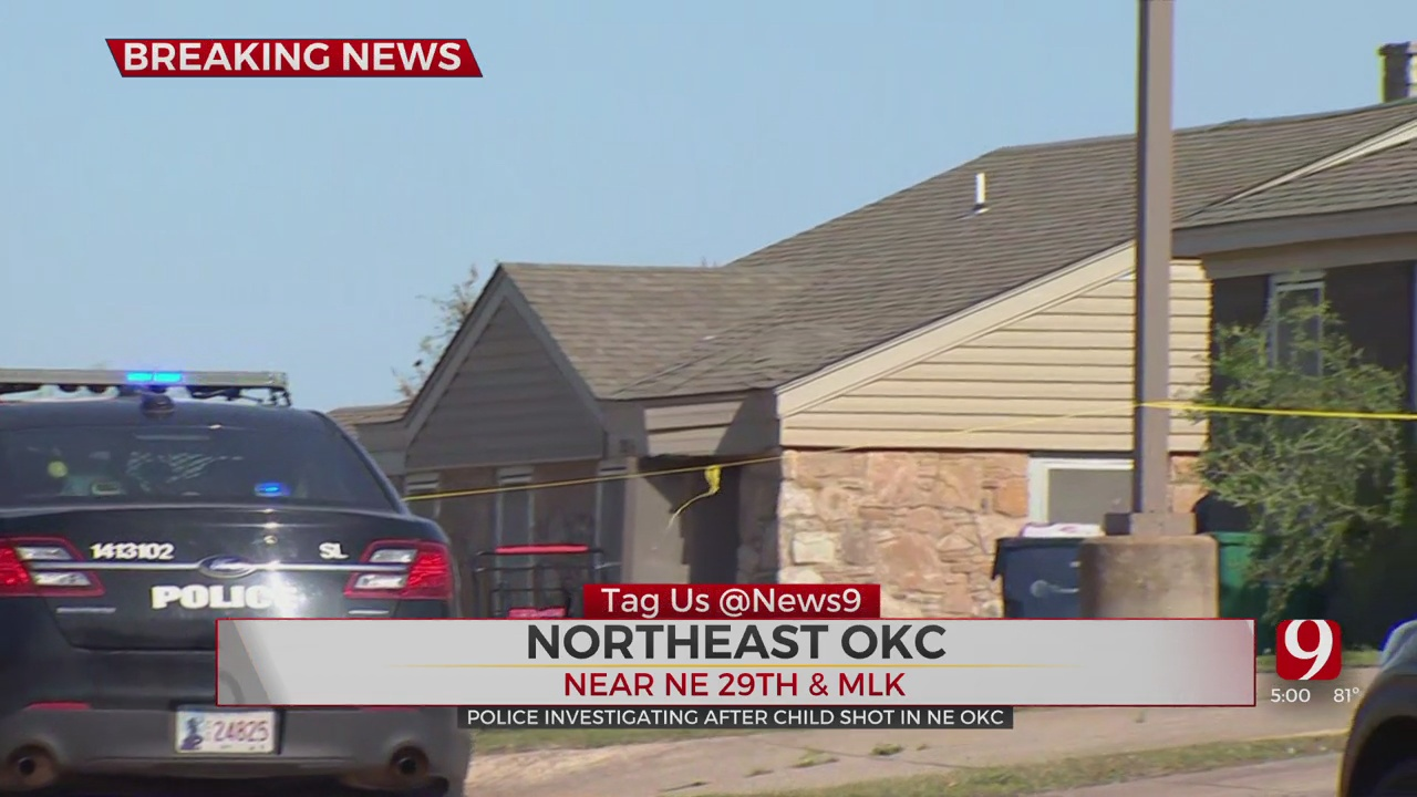 Police Investigating After 3-Year-Old Child Dies In NE OKC Shooting