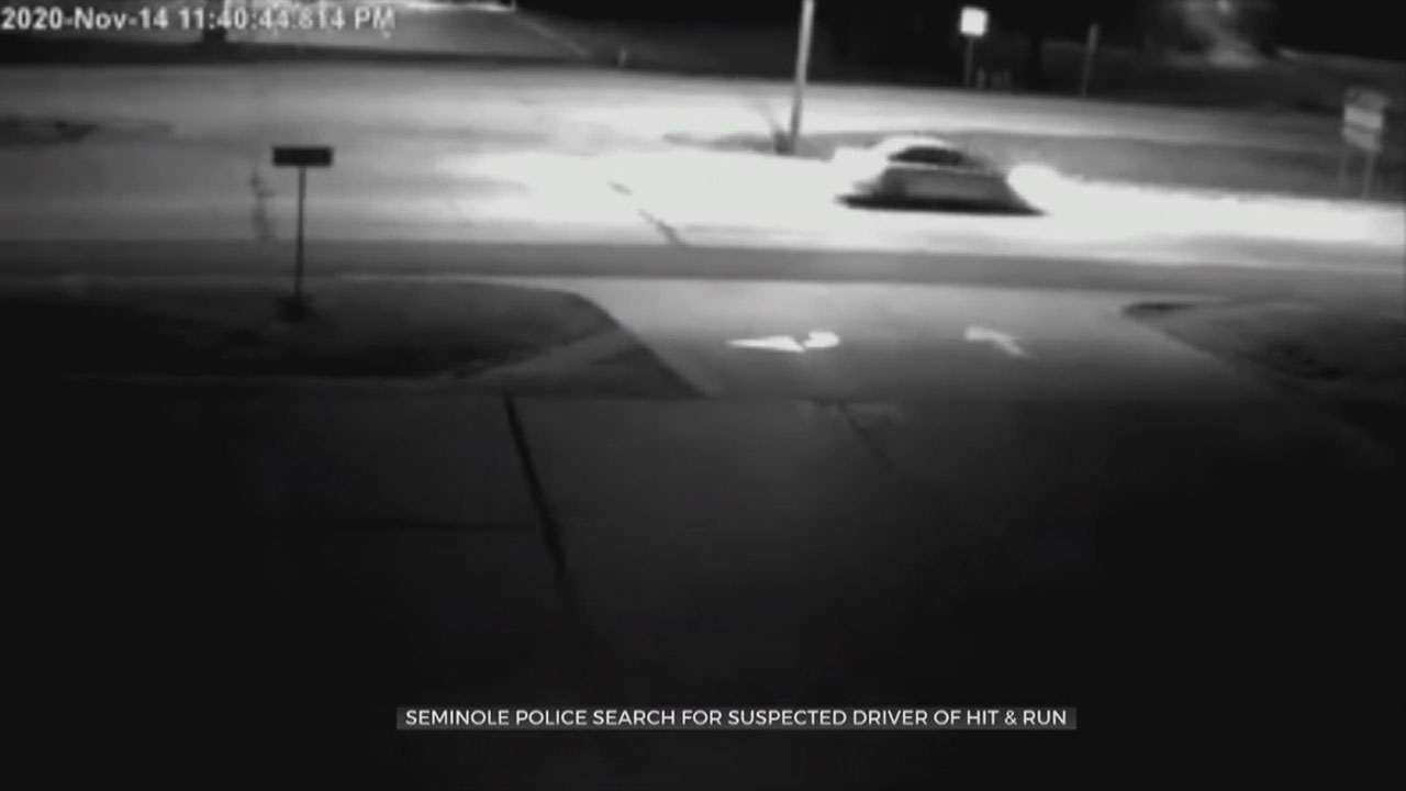 Seminole Police Search For Suspected Driver Of Hit & Run