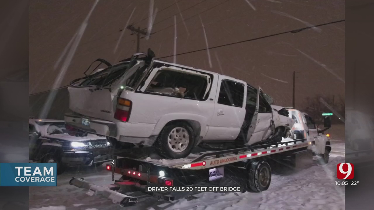 Man Recovering After Wreck On I-35 During Winter Storm