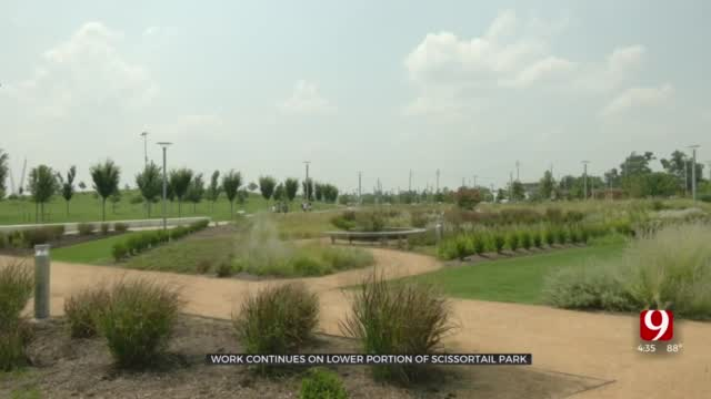 City Leaders Eye Opening Date For Lower Scissortail Park, Prepare For New Dining Option
