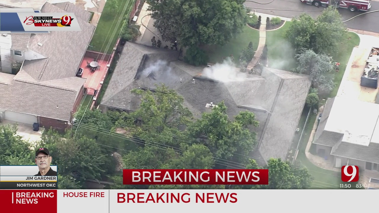 House Fire Reported In NW OKC