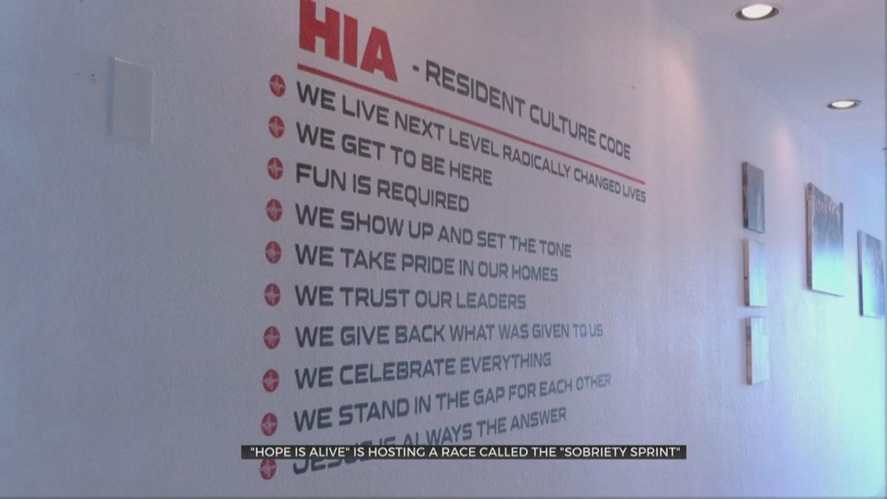 'Hope Is Alive' Hosting 'Sobriety Sprint' This Weekend