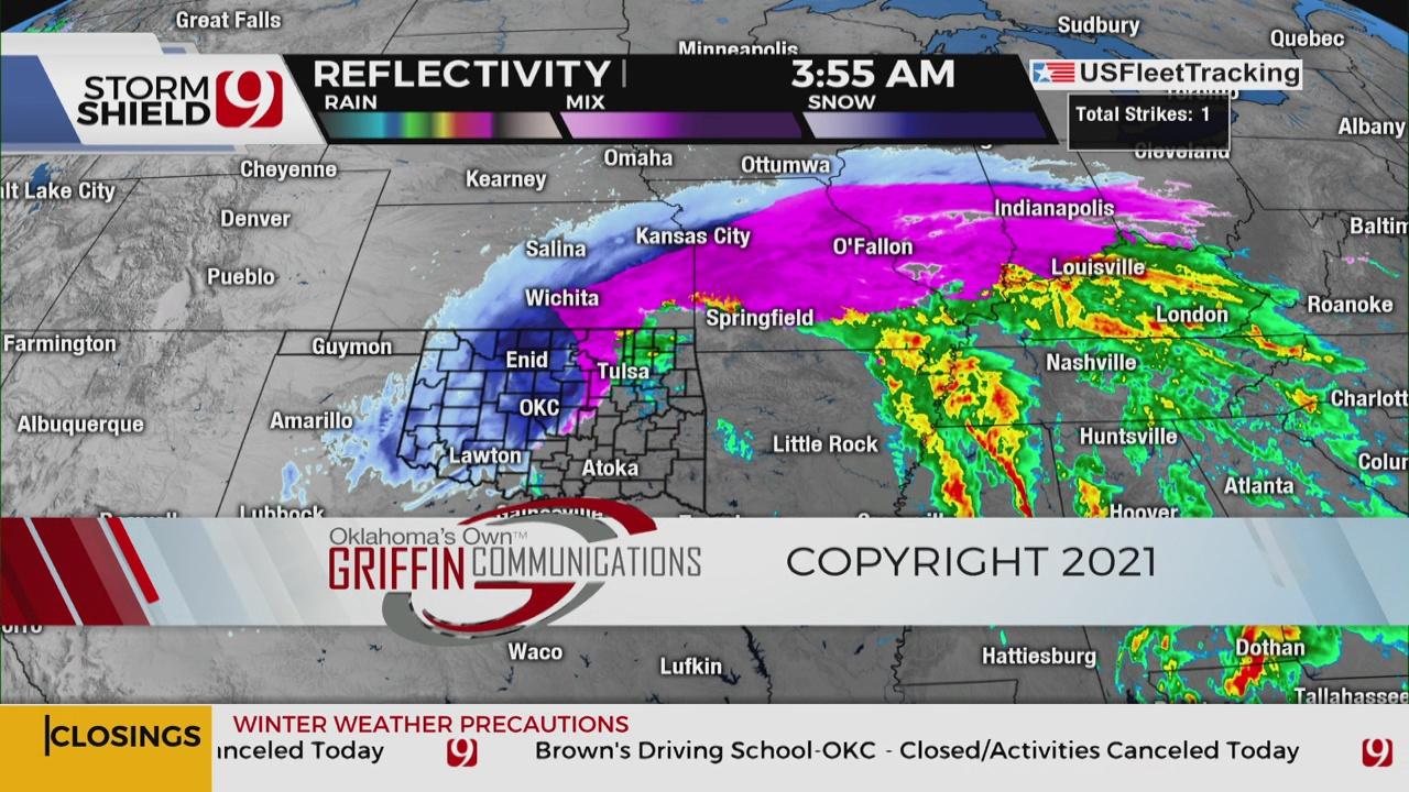 News 9 6 a.m. Newscast (Jan. 1)